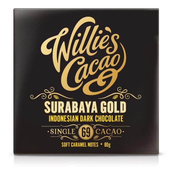 Willie's Cacao Surabaya Gold Indonesian Dark Chocolate 80g