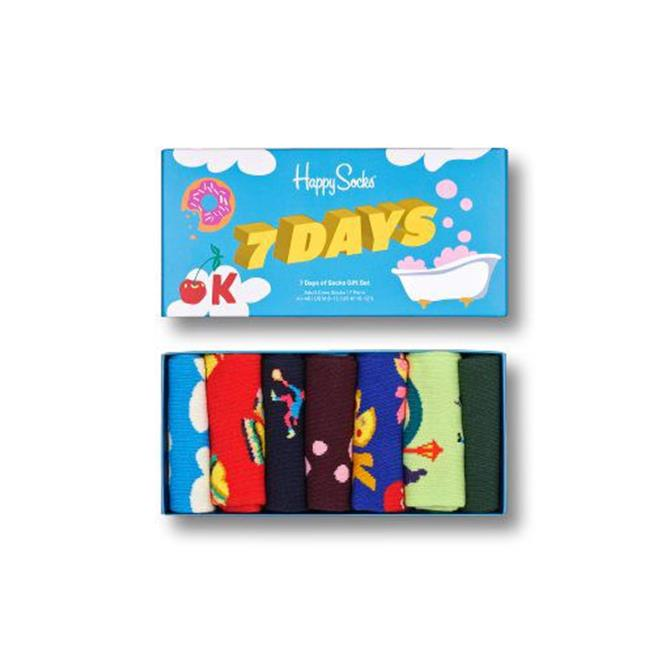 Happy Socks 7 Pack 7 Day Sock Gift Set