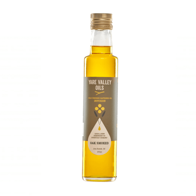 Yare Valley Oak Smoked Cold Pressed Rapeseed Oil 250ml