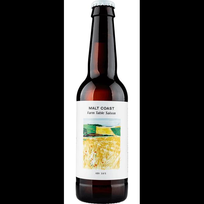 Malt Coast Farm Table Saison Beer 330ml