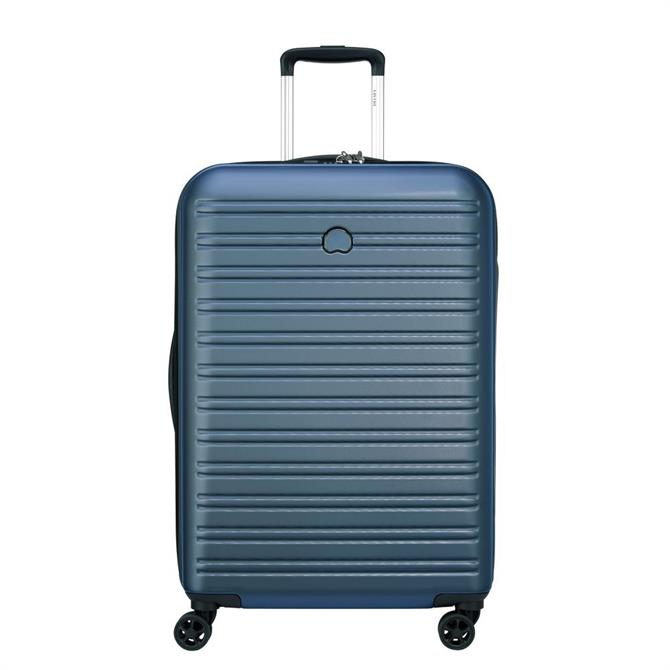 Delsey Segur 2.0 Hard-Wearing 4 Double Wheels Suitcase