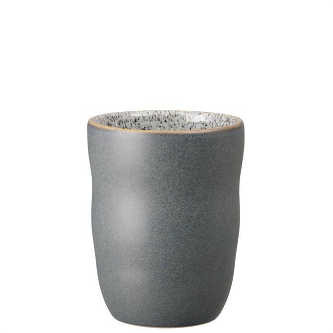 Denby Studio Grey Charcoal Handless Mug