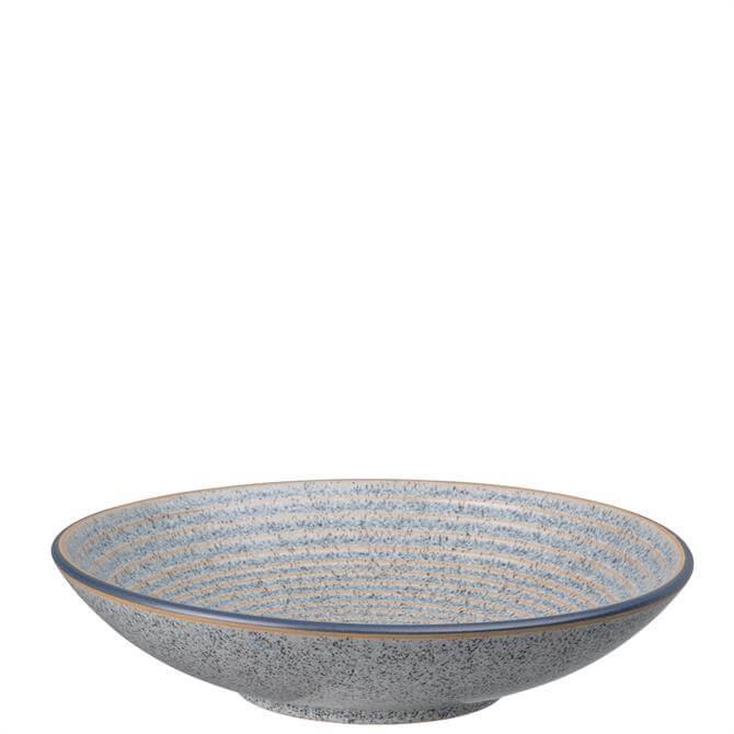 Denby Studio Grey Medium Ridged Bowl