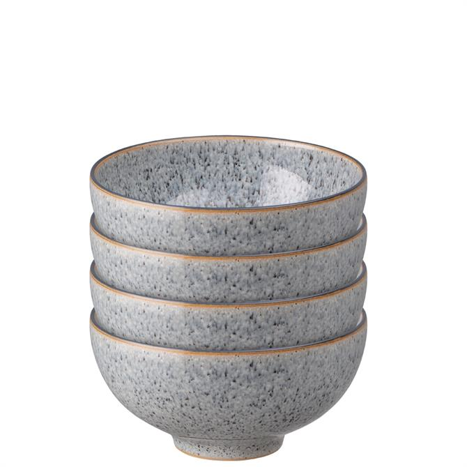 Denby Studio Grey Rice Bowl 4 Piece Set
