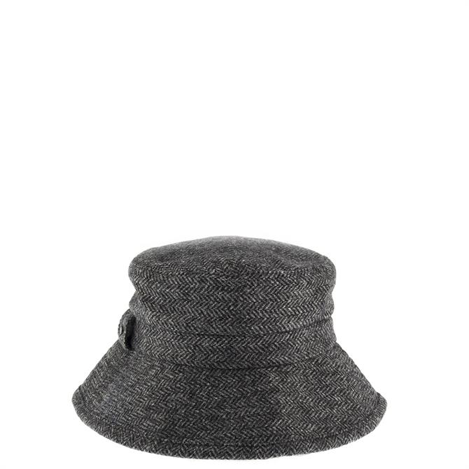 Dents Ladies Abraham Moon Herringbone Bucket Hat