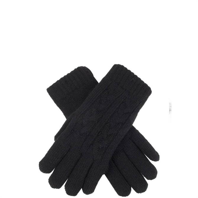 Dents Women's Cable Knit Gloves