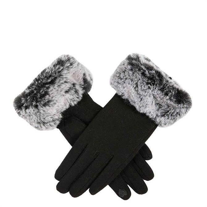 Dents Women's Touchscreen Thermal Gloves with Faux Fur Cuffs