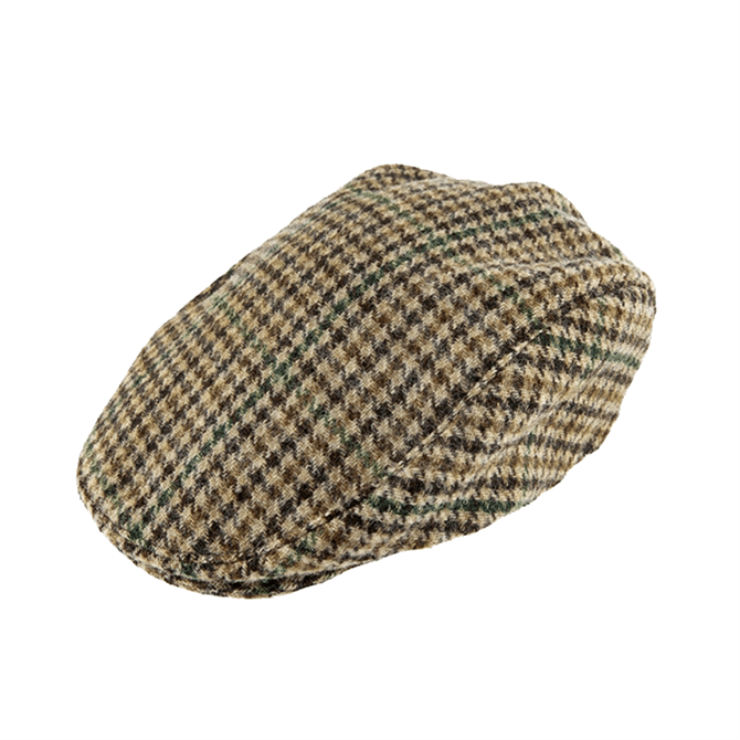 Dents Abraham Moon Dogtooth Flat Cap