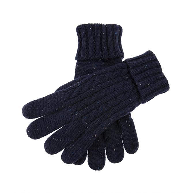 Dents Fareham Cable Knit Gloves