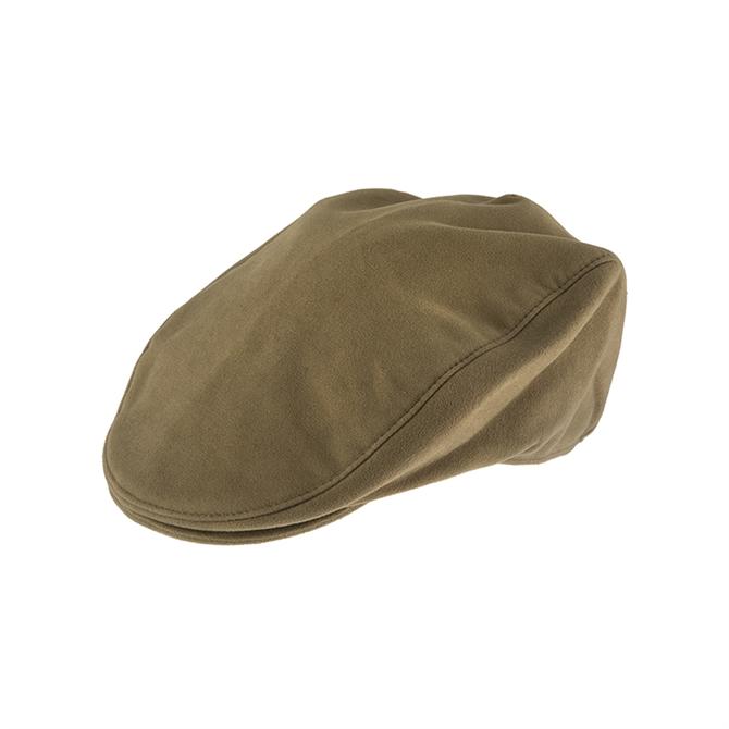Dents Moleskin Flat Cap