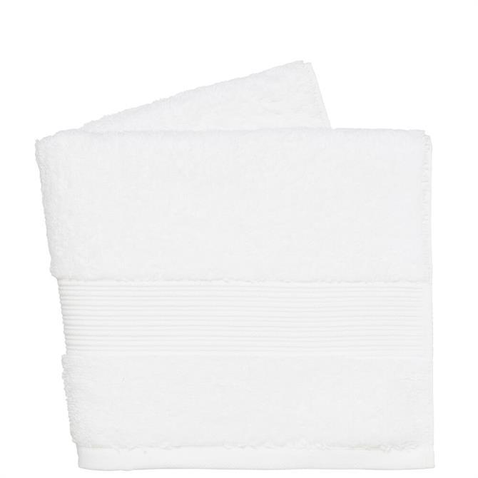 DKNY White Plain Dye Towel