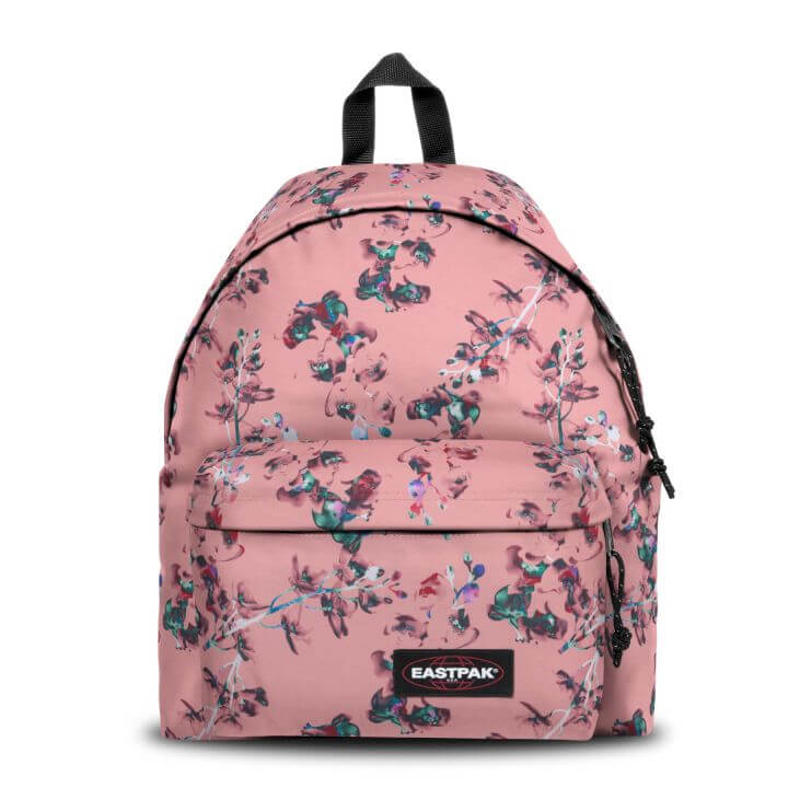 An image of Eastpak Padded Pak'r® Romantic Pink Floral Backpack - PINK