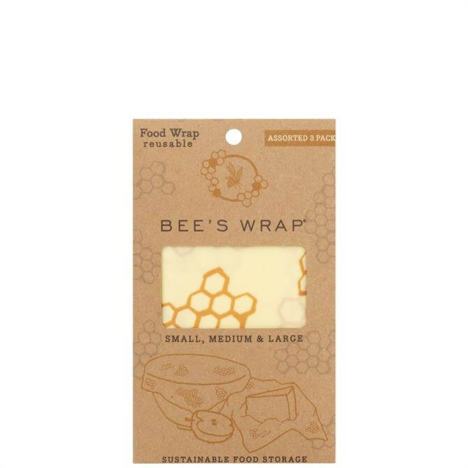 Bee's Wrap Set of 3 Reusable Food Wraps