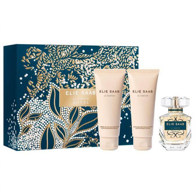 Elie Saab Le Parfum Royal Christmas Set - Le Parfum Royal 50ml + Le Parfum Shower Gel 75ml + Le Parfum Body Lotion 75ml