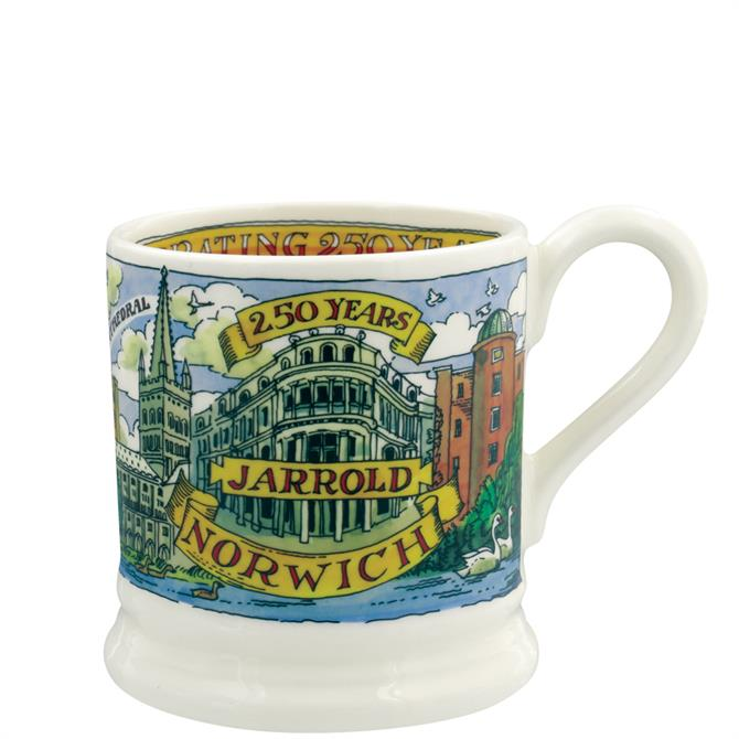 Emma Bridgewater Jarrold 250th Anniversary Limited Edition Half Pint Mug