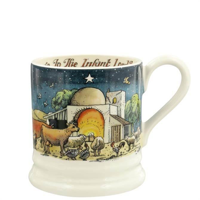 Emma Bridgewater Nativity Scene Half Pint Mug