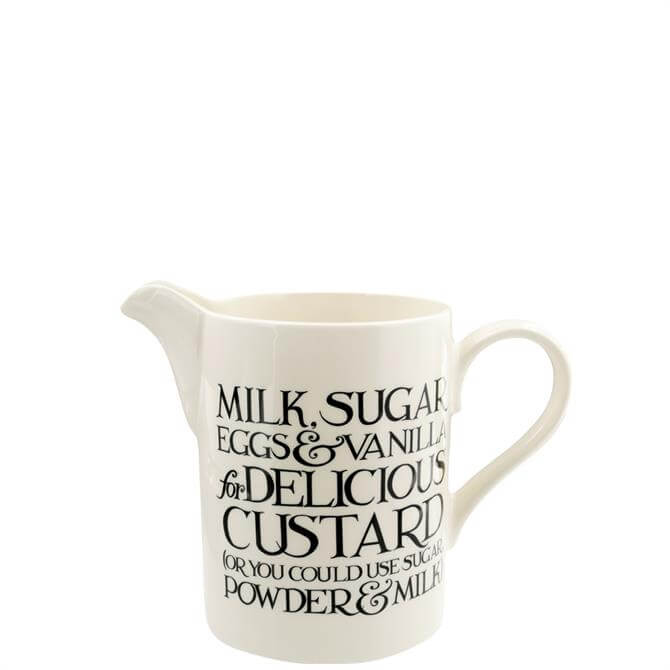 Emma Bridgewater Black Toast Large Straight Jug