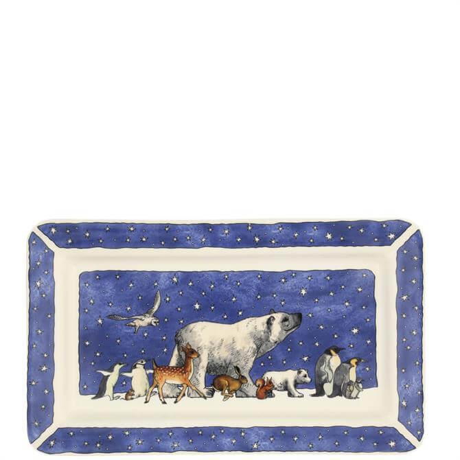 Emma Bridgewater Winter Animals Medium Oblong Plate