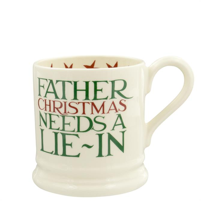 Emma Bridgewater Christmas Toast Father Christmas Half Pint Mug