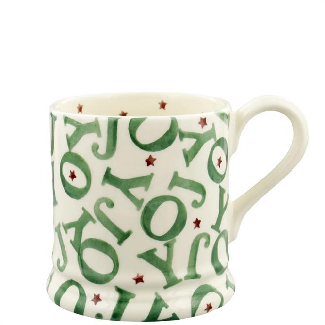 Emma Bridgewater Joy Half Pint Mug