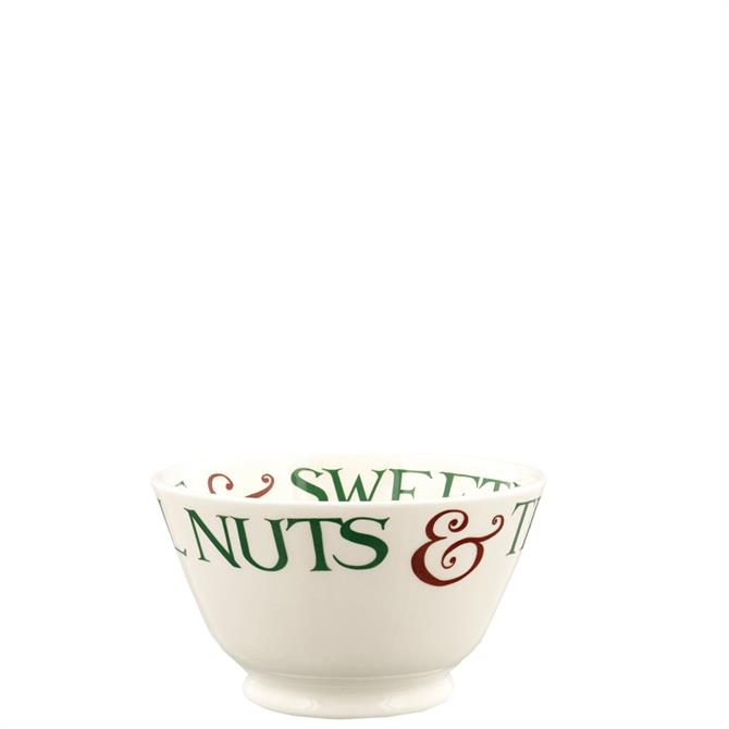 Emma Bridgewater Christmas Toast & Marmalade Brazil Nuts Small Old Bowl