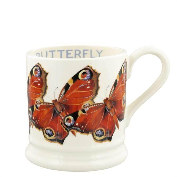 Emma Bridgewater Peacock Butterfly Half Pint Mug