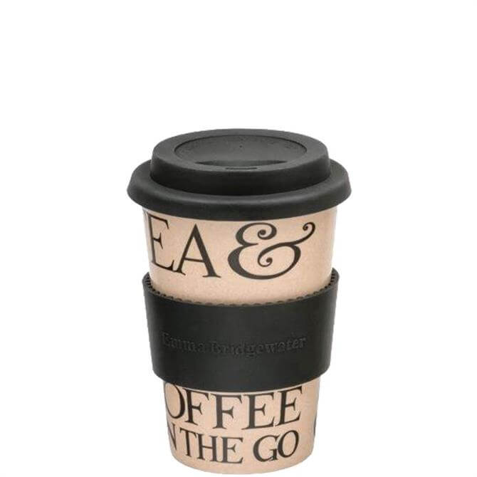 Emma Bridgewater Black Toast Rice Husk Travel Mug