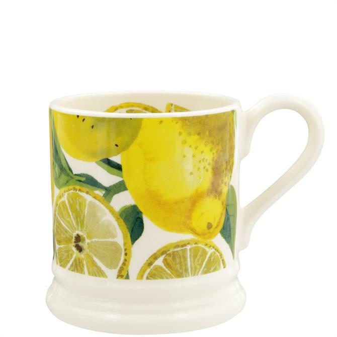 Emma Bridgewater Vegetable Garden Lemons Half Pint Mug