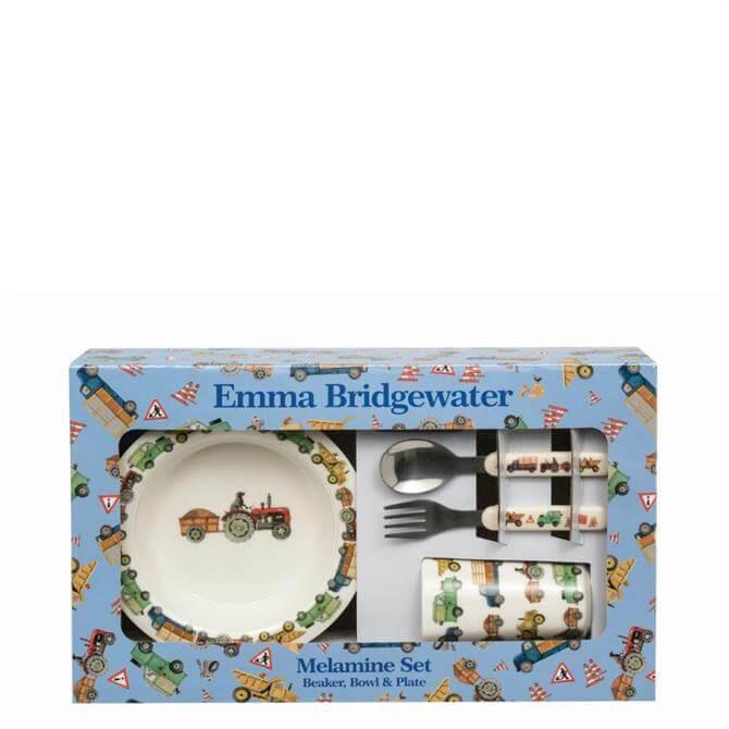 Emma Bridgewater Men at Work 6 Piece Childrens Melamine Set