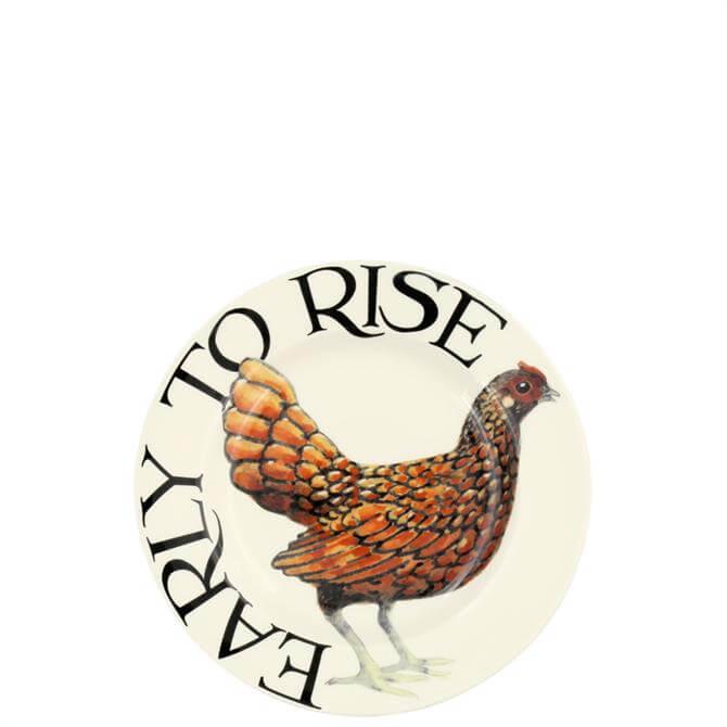 Emma Bridgewater Rise & Shine Early to Rise 6.5 Plate
