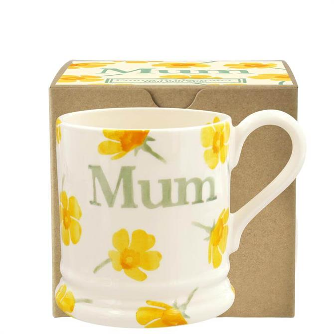 Emma Bridgewater Buttercup Scattered Mum Half Pint Mug