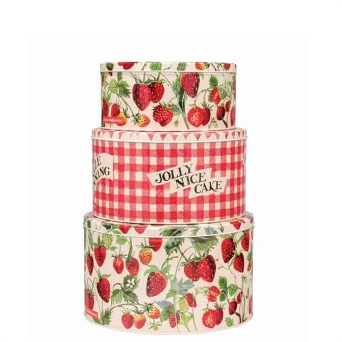 Emma Bridgewater Vegetable Garden Strawberries Cake Tin