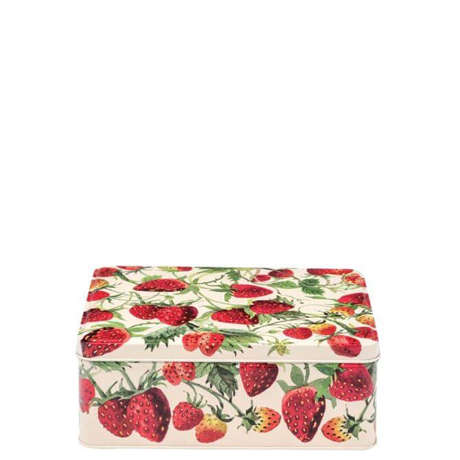Emma Bridgewater Vegetable Garden Strawberries Deep Rectangular Tin