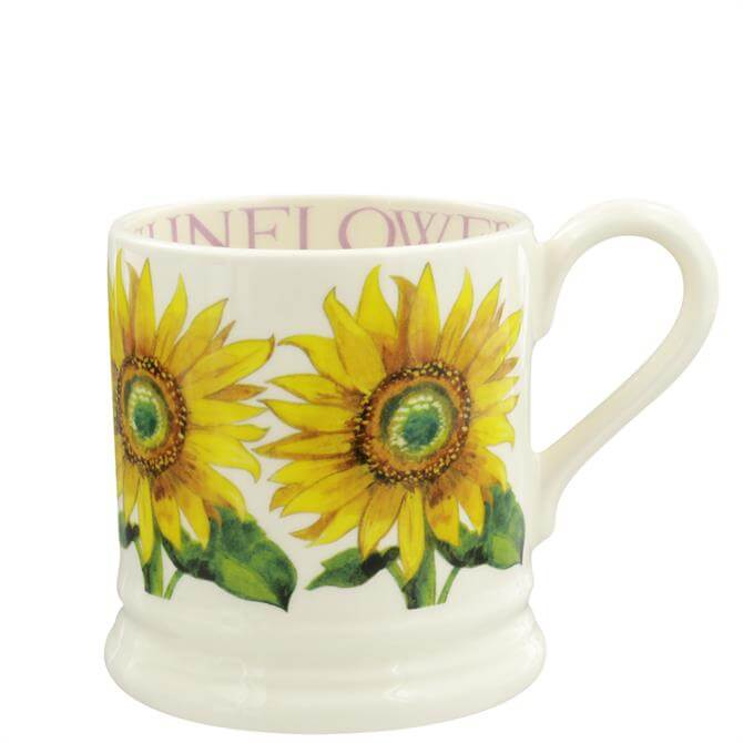 Emma Bridgewater Sunflowers Half Pint Mug