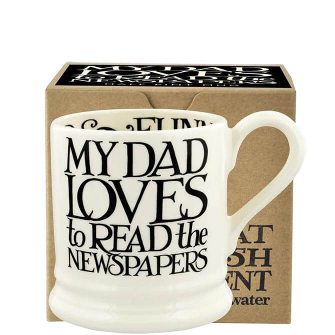 Emma Bridgewater Black Toast I Love My Dad Half Pint Mug