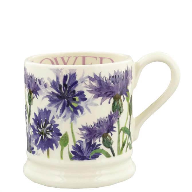 Emma Bridgewater Flowers Cornflower Half Pint Mug