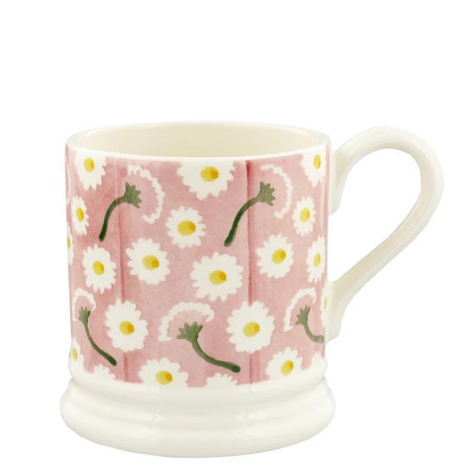 Emma Bridgewater Pink Daisy Half Pint Mug