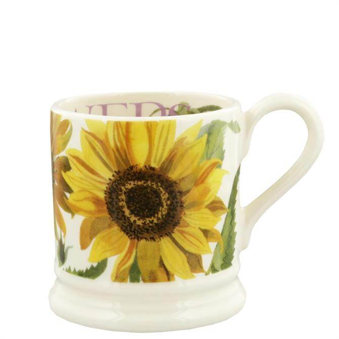 Emma Bridgewater Flowers Sunflowers Half Pint Mug
