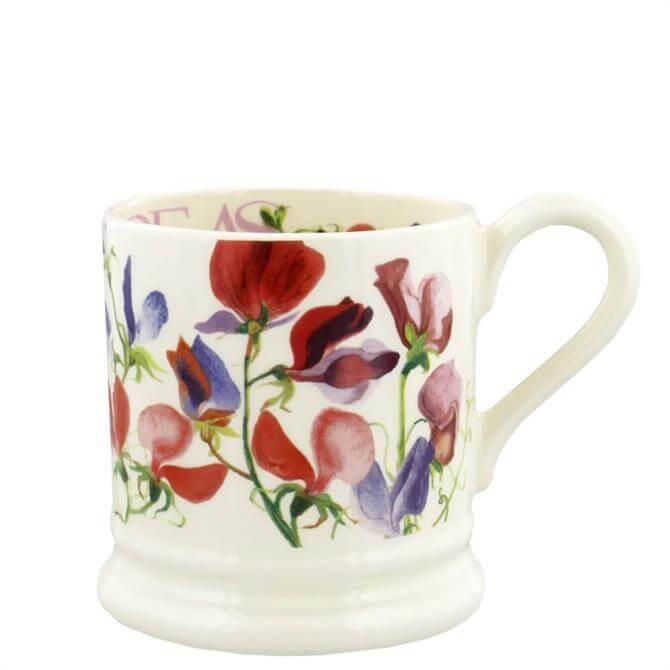 Emma Bridgewater Flowers Sweet Pea Multi Half Pint Mug