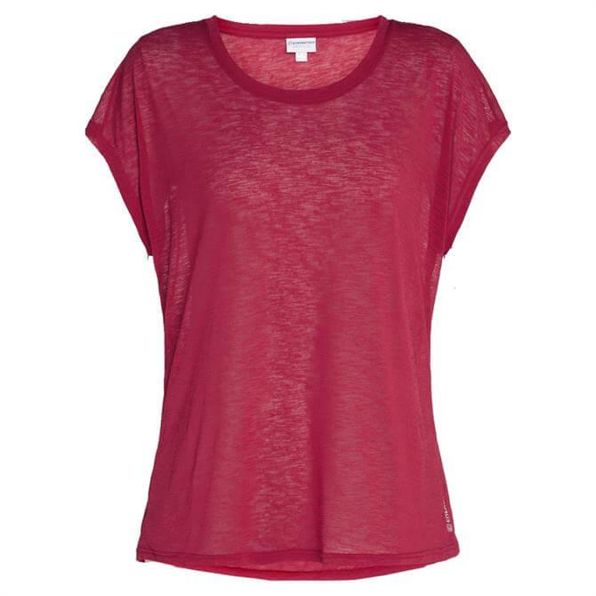 Energetics Women's Galinda T-Shirt - Red Wine