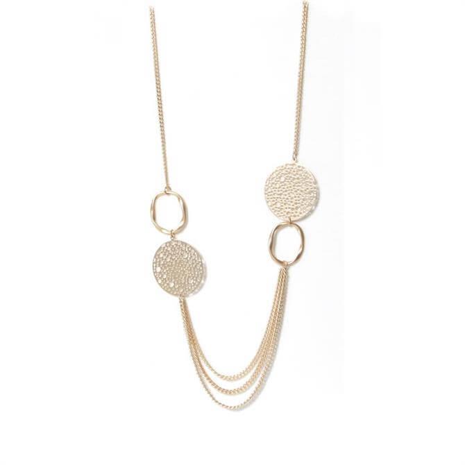 Envy Golden Long Chain Necklace