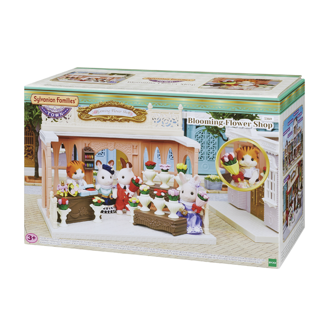 Sylvanian Families Town Blooming Flower Shop