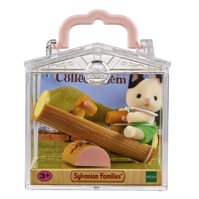 Sylvanian Families Baby Cat Case See-Saw