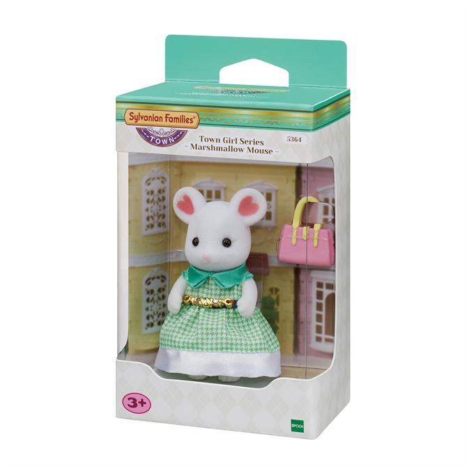 Sylvanian Families Town Series Marshmallow Mouse