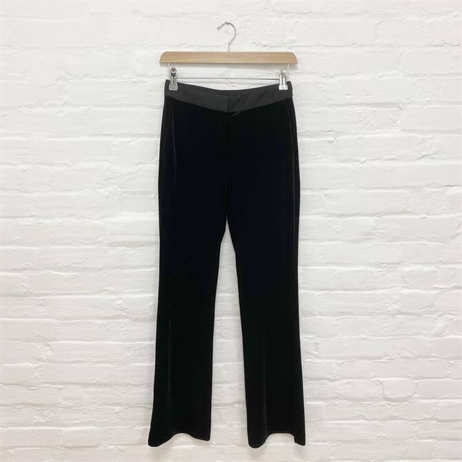 Esprit Velvet Bootleg Trousers