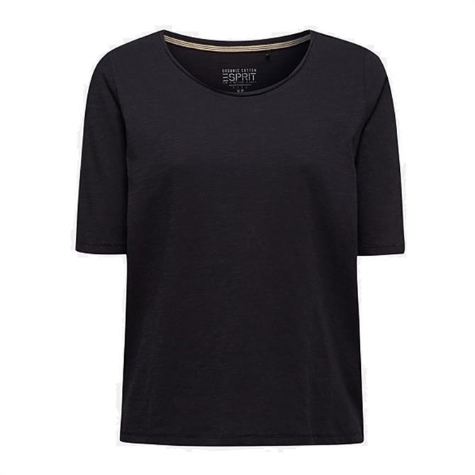 Esprit Organic Cotton Slub T-Shirt