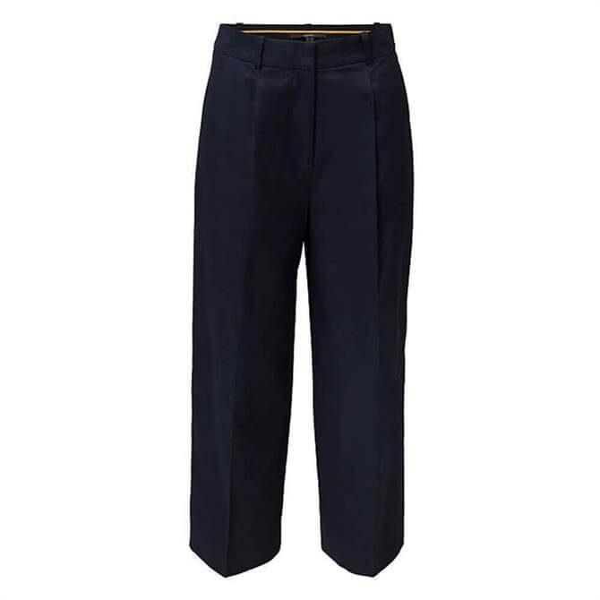 Esprit Cotton Culottes with sheen finish
