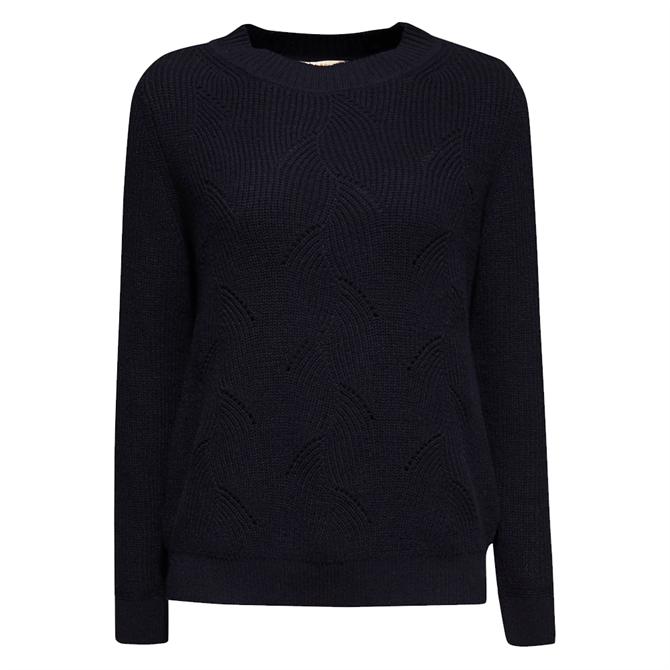 Esprit Textured Pattern Knit Jumper