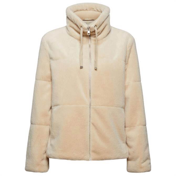 Esprit Casual Faux-Fur Jacket