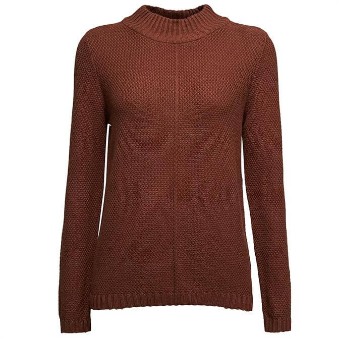 Esprit High Neck Organic Cotton Sweater